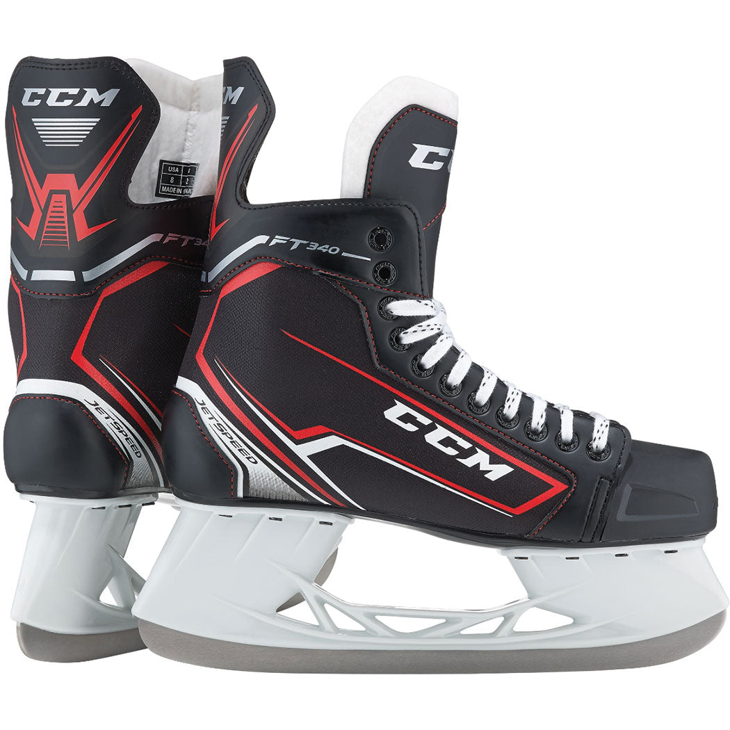 007b03bb4ce CCM Jetspeed FT340 Youth Ice Hockey Skates - HockeyTron.com