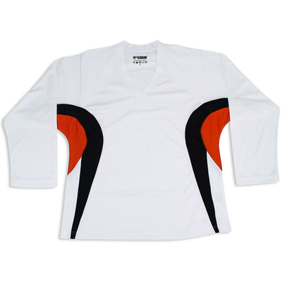 TronX DJ200 Team Hockey Jersey - White/Orange