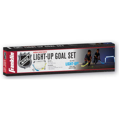 Frankling NHL Light Up Mini Hockey Goal Set
