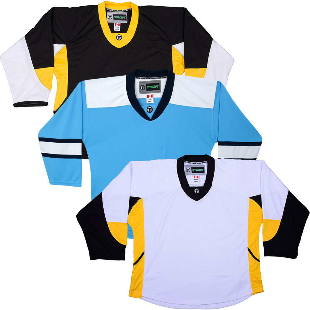 outlet store 327b0 db0a6 Pittsburgh Penguins Hockey Jersey - TronX DJ300 Replica Gamewear