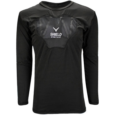 Verbero Vented Long Sleeve Performance Compression Shirt