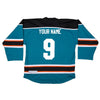 Custom Jersey Name and Numbers