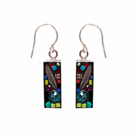 Firefly Luxe Small Rectangle Earring