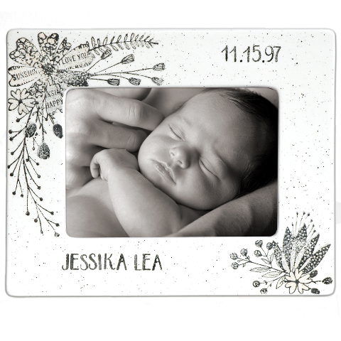 Museware Baby Flower Photo Frame