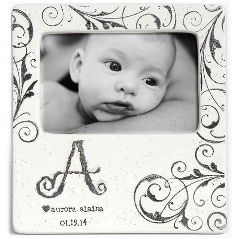 Museware Baby Monogram Photo Frame