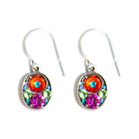 Firefly Petite Oval Earrings