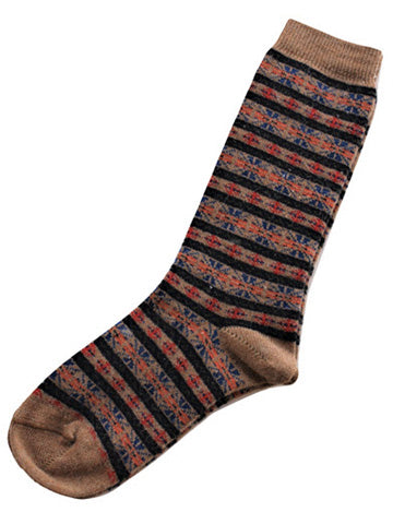 Alpaca Duluth Striped Socks