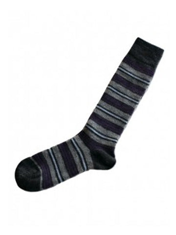 Alpaca Kelly Striped Socks