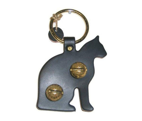 Cat Brass Bell Door Hanger