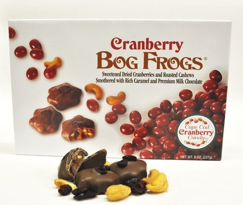 Cranberry Bog Frogs Candy