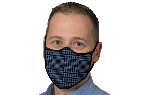 Face Mask - Blue Glen Plaid