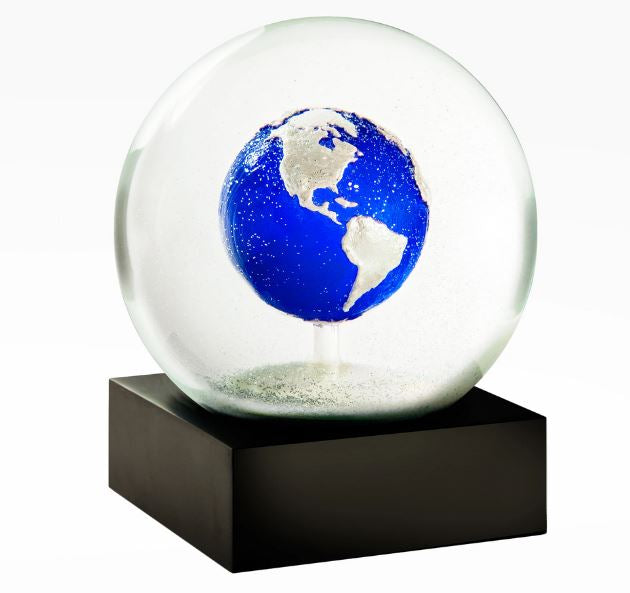 """Big Blue Marble"" Snow Globe"