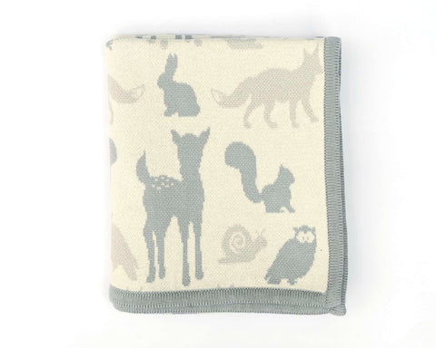 Woodland Animal Blanket