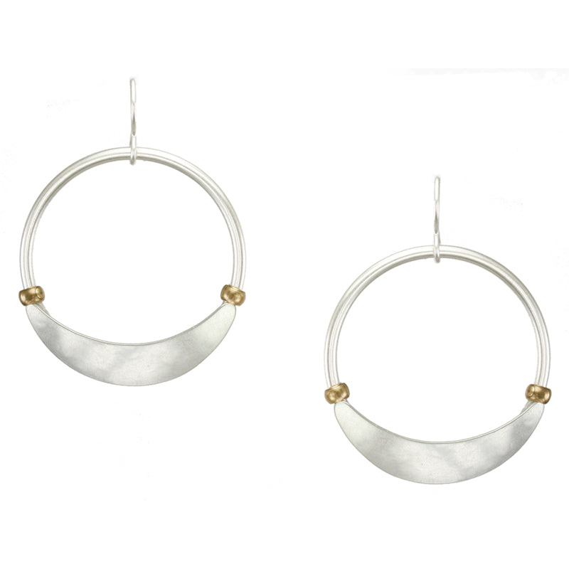 Marjorie Baer Hoop with Beads Earring