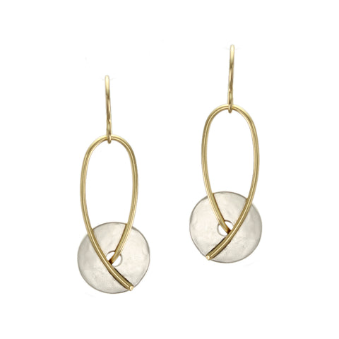 Marjorie Baer Disc and Loop  Earring