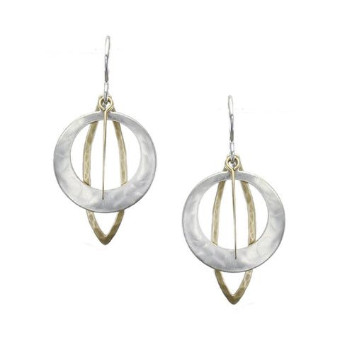 Marjorie Baer Assymetric Earrings