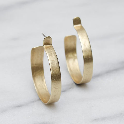 Marjorie Baer Hoop Earrings