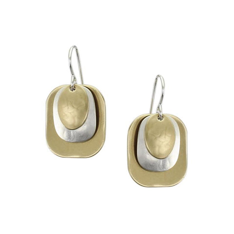 Marjorie Baer 3 Layer Earrings