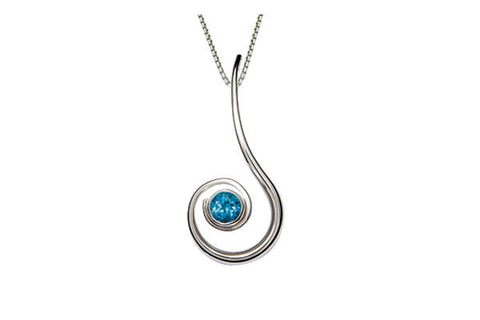 Ed Levin Dancing Clef Pendant