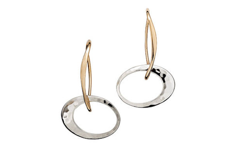 Ed Levin Petite Elliptical Earrings