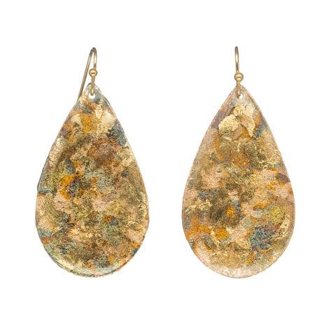 Evocateur Confetti Teardrop Earrings