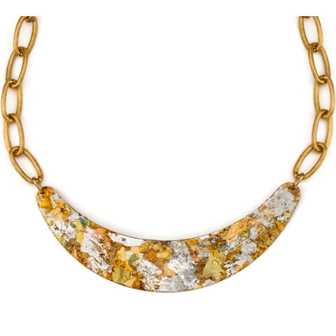 Evocateur Confetti Boomer Necklace