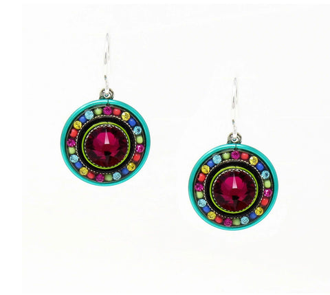 Firefly Dolce Vita Round Earrings