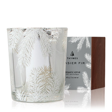 Thymes Frasier Fir Statement Votive Candle