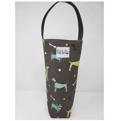 Half-n-the-Bag Doggies Wine Bag