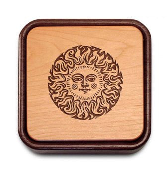Handcrafted Flip Top Sun Box