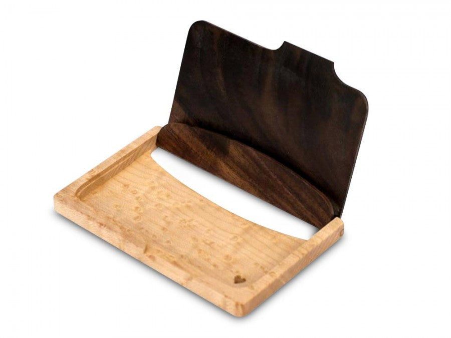 Handcrafted wood business card holder crafty yankee handcrafted wood business card holder colourmoves