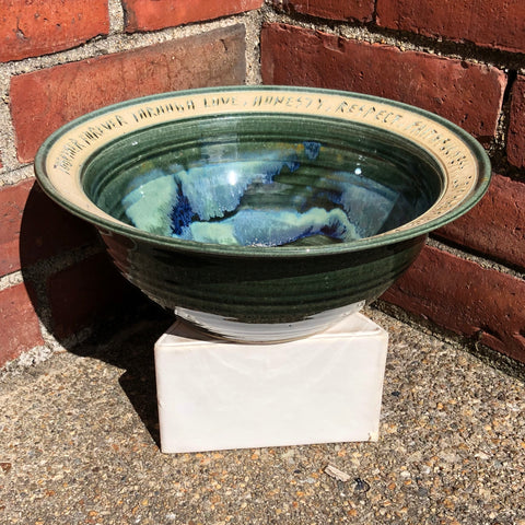 "Handcrafted ""Together Forever"" Bowl"