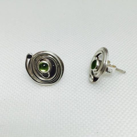 Spiral Peridot Side View
