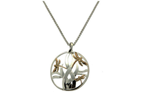 Keith Jack Dragonfly Pendant