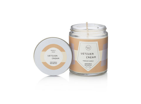 Pure Soy Candles - Vetiver Cream