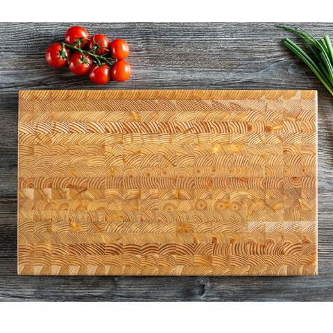 Larch Wood Large Cutting Board