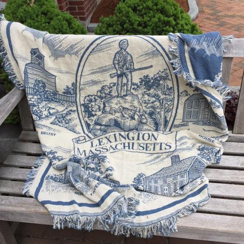 Lexington Commemorative Throw Blanket