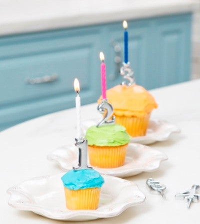 mariposa number candles