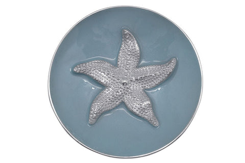 "Mariposa ""Sea Blue Starfish"" Relief Bowl"