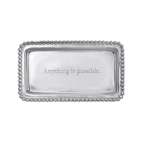 Mariposa Engraved Statement Tray - Possible