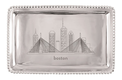 Mariposa Boston Skyline Tray