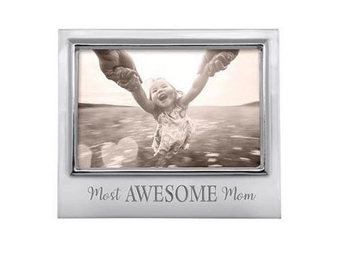 "Mariposa ""Most Awesome Mom"" 4x6 Frame"
