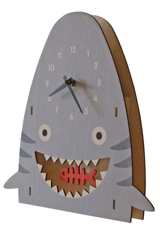 Pendulum Shark Clock