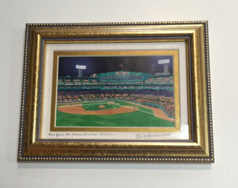 Framed Fenway Night View