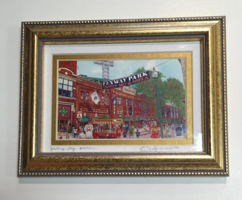 Framed Yawkey Way