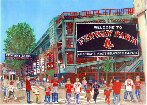 Gate D at Fenway Park Print