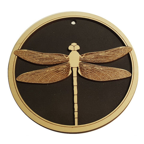 Laser Cut Wooden Trivet - Dragonfly