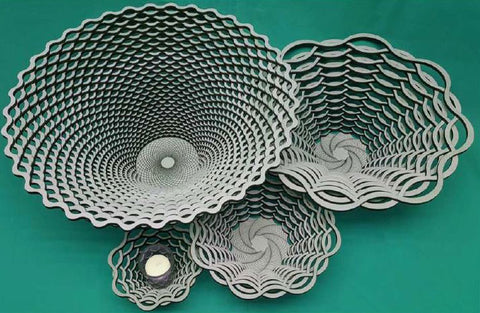 Laser Cut Wooden Group - Weave
