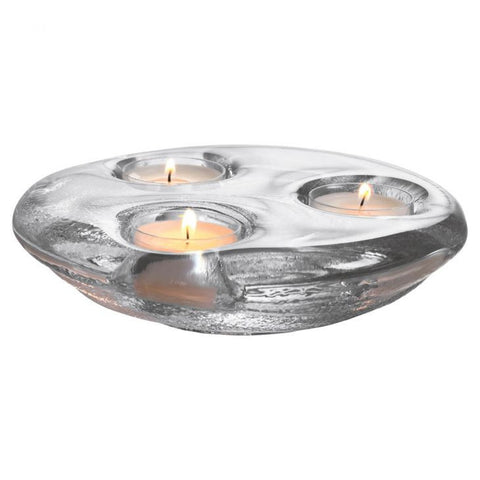 Simon Pearce Glass Thetford Tealight Trio