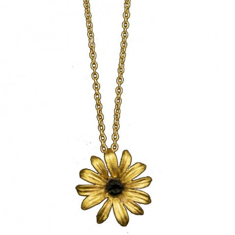 Michael Michaud Black-Eyed Susan Necklace - Small